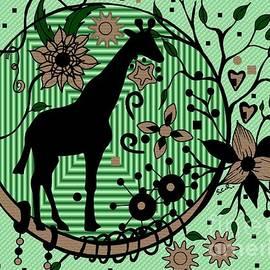 Giraffe Illustration by Saribelle Rodriguez