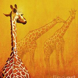 Giraffe Memories by Jerome Stumphauzer