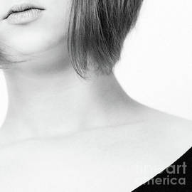 Girl #5401 BW by Andrey Godyaykin