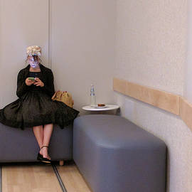 Haleh Mahbod - Girl and her Cell Phone
