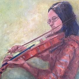 Lavender Liu - Girl Playing Violin
