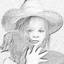Amber Stubbs - Girl with dog