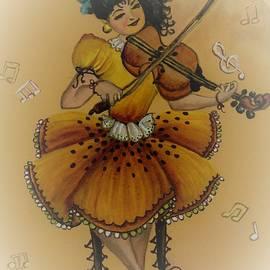 Tara Krishna - Girl with violin