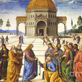 Giving of the Keys to Saint Peter - Pietro Perugino