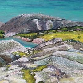 Art Nomad Sandra  Hansen - Glacial lake