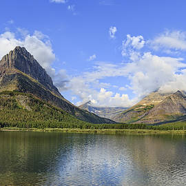 Glacier National Park Mountain Landscape by Kay Brewer