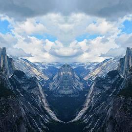 Glacier Point Yosemite Mirror by Kyle Hanson