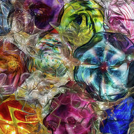 Glass Abstract #5 by Patti Deters