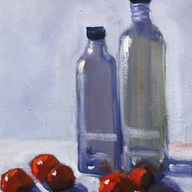 Nancy Merkle - Glass and Cherries