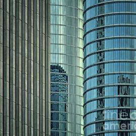 Glass and Concrete Canyon by Norman Gabitzsch