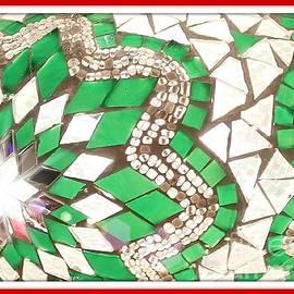 Glass Mosiac by Jenny Revitz Soper