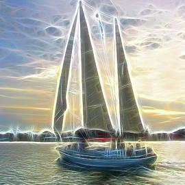 Ella Char - Glimmering Sailboat