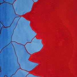Sol Luckman - Glitch in the Matrix original painting
