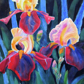 Kathy Braud - Glorious Rusties and Blue