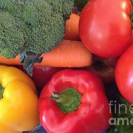 Vibrant Vegetables by By Divine Light