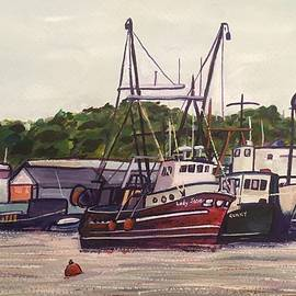 Richard Nowak - Gloucester Boats At Rest