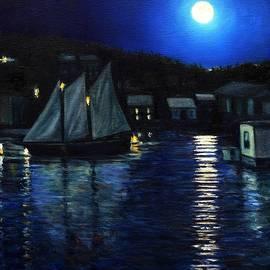 Eileen Patten Oliver - Gloucester Nocturne
