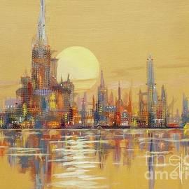 Paul Henderson - Glow City II