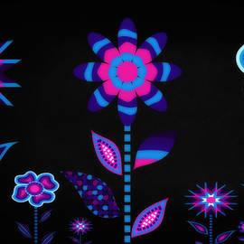 Glowing Garden 3 by Angelina Tamez