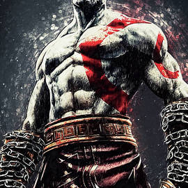God Of War - Kratos by Zapista Zapista