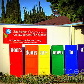 Come Inside The Door is Open by Betsy Warner