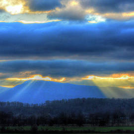 God's Rays In God's Country by Don Mercer