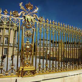 Gold Fence Chateau de Versailles  by Chuck Kuhn