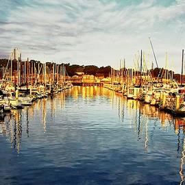 Flying Z Photography by Zayne Diamond - Gold Light, Monterey Marina