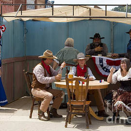 Gold Rush Days In Victor Colorado by Steve Krull