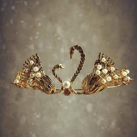 Amanda Elwell - Gold Swans Tiara