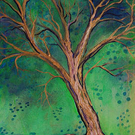 Katherine Nutt - Gold Tree in the Green