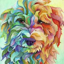 Golden Doodle by Sherry Shipley