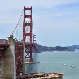Debby Pueschel - Golden Gate Bridge and Old Electric Power Plant