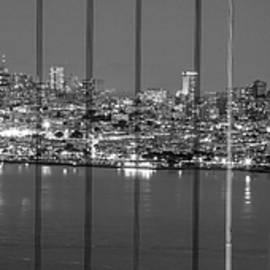 Golden Gate Bridge And San Fransico  by John McGraw