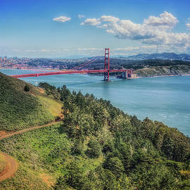 Jennifer Rondinelli Reilly - Fine Art Photography - Golden Gate Bridge from the  Marin Headlands
