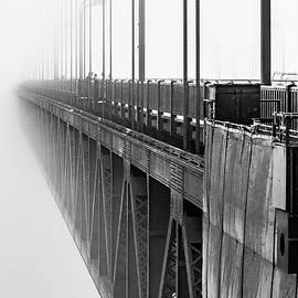 Golden Gate Bridge Portrait  by Bill Gallagher