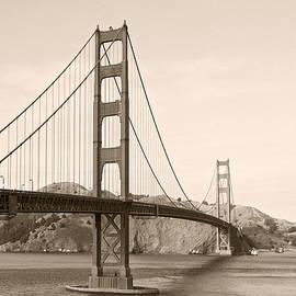 Golden Gate Bridge San Francisco - A thirty-five million dollar steel harp by Christine Till