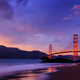 Radek Hofman - Golden Gate Dusk