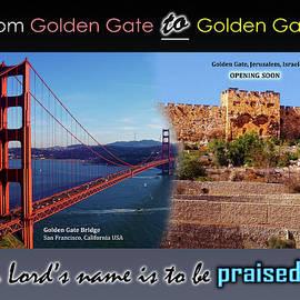 Golden Gate To Golden Gate by Brian Tada
