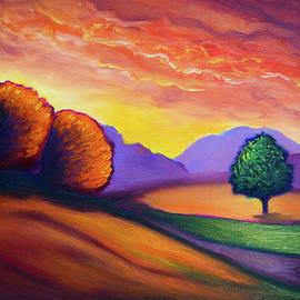 Lilia D - Golden hour landscape