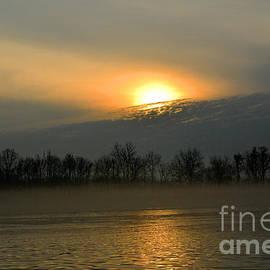 Robyn King - Golden Hour Sunrise - Delaware River Art