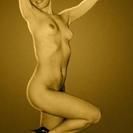 Golden Lady by Yuri Lev
