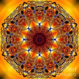 Kelly Holm - Golden Mandala