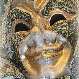 Golden Mask by Toni Abdnour