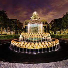 Norma Brandsberg - Charleston Golden Pineapple in Evening