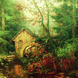 Georgiana Romanovna - Golden Pond Below The Mill In The Mist