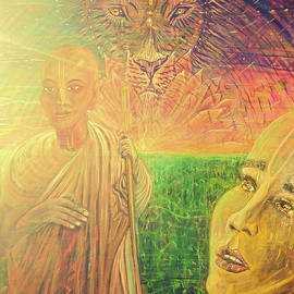 Michael African Visions - Golden saints