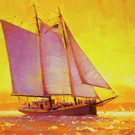 Golden Sea by Steve Henderson