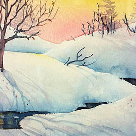 Golden Winter II by Teresa Ascone
