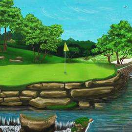 Troy Stapek - Golf Green Hole 16